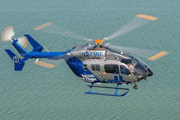 The EC145 can be deployed in EMS, law enforcement, transport and utility missions.