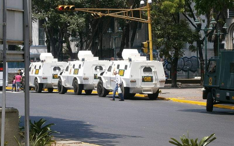 The VN4 armoured vehicle entered into service with the National Guard of Venezuela in 2012. Image courtesy of The Photographer.