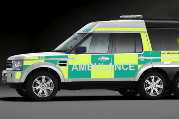 The ambulance variant of the SUV 600 features a high roof and an elongated body. Image: courtesy of Supacat Limited.