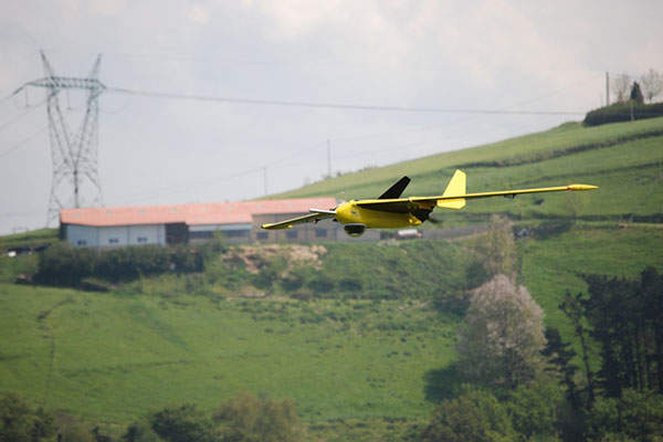 The Fulmar UAV has an operational range of 800km. Image: courtesy of Txema1.