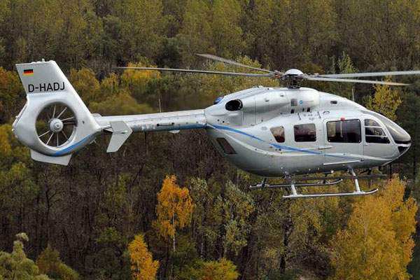 Germany's Baden Württemberg Police Force ordered six EC145 T2 helicopters in law enforcement configuration in December 2013. Image: courtesy of Eurocopter, Charles Abarr.