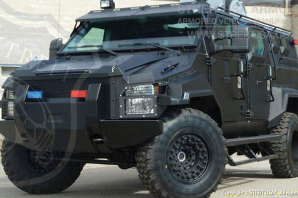 The vehicle can be used in law enforcement and security operations. Image courtesy of STREIT Group.