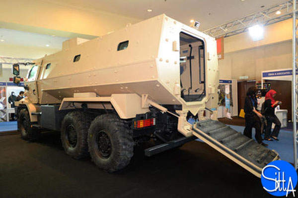 The Higuard MRAP vehicle was displayed at DSA 2014 exhibition and conference held in Malaysia. Image: courtesy of Ministère de la Défense.