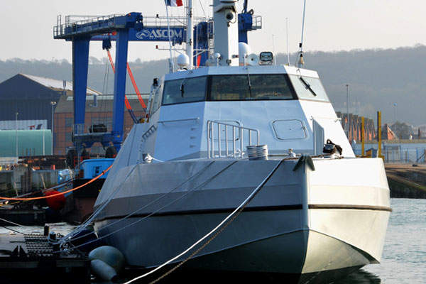 The HSI 32 vessel was launched in March 2015. Image: courtesy of CMN.