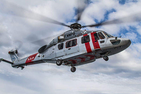 Maiden flight of the H175 helicopter was performed in December 2009. Image: courtesy of Tom Andreas Østrem.