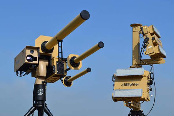 Image: The AUDS is developed by Blighter Surveillance Systems, Chess Dynamics, and Enterprise Control Systems. Photo: courtesy of Blighter.