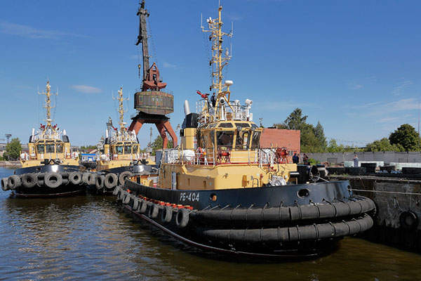 Project 16609 tugs are in service with the northern and Pacific fleets of the Russian Navy. Image: courtesy of PELLA.