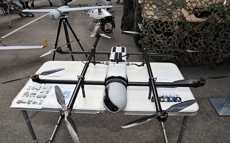 The ZALA 421-22 UAV was introduced in April 2013. Image courtesy of Vitaly V. Kuzmin.