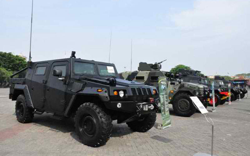 The Komodo vehicles took part in the Indo Defence 2012 Expo. Image: courtesy of Badan Usaha Milik Negara / Enterprises Indonesia.
