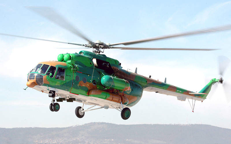 Mi-171E was developed by the Mil Moscow Helicopter Plant. Image courtesy of Russian Нelicopters, JSC.