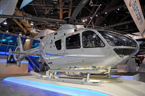 Eurocopter launched the improved EC135 T3/P3 helicopter versions at the Heli-Expo 2013.