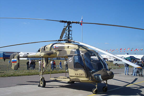 Rubin Class patrol boats can accommodate a Ka-226 helicopter.