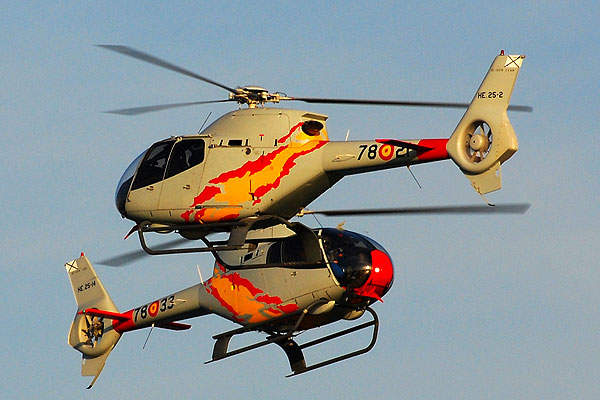 The Eurocopter EC120 B helicopter can conduct transport, training, law enforcement and medical evacuation missions. Image courtesy of José A. Montes.
