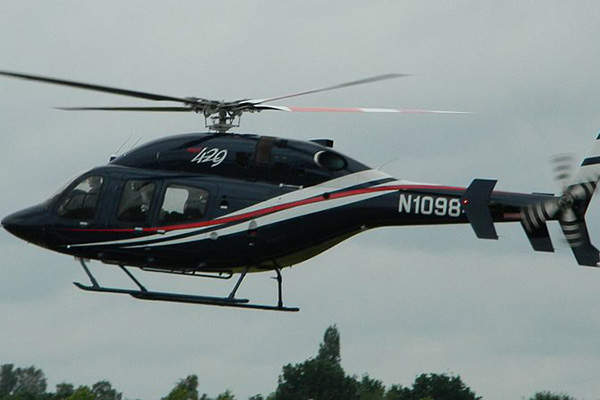 The Bell 429 helicopter is powered by two PW207D1/D2 turbo-shaft engines. Image courtesy of MilborneOne.