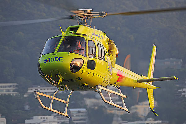 The AS355 NP Ecureuil can fly at a maximum speed of 278km/h. Image courtesy of anthony pecchi