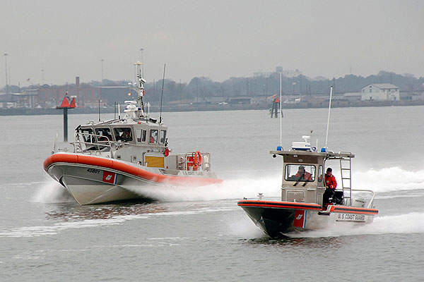 The SPC-SW patrol craft has a maximum speed of 41kts at 6,000rpm. U.S. Coast Guard Photo/Petty Officer Mark Jones.
