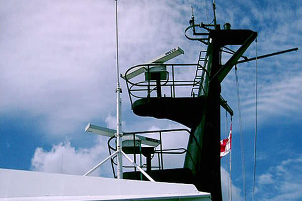 The Stan Patrol 2606 vessel is equipped with Decca Bridgemaster radar.