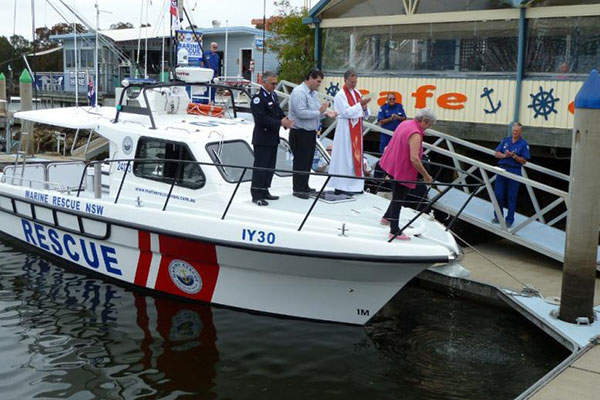 The Steber 38 marine rescue vessels have a maximum speed of 32.5kt. Image courtesy of Steber International.