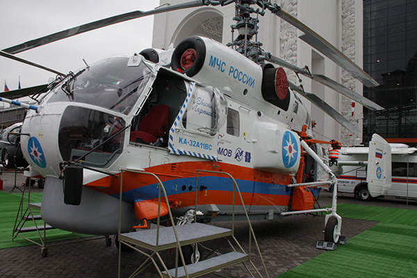 The EMERCOM of Russia operates five Ka-32A11BC helicopters. Image: courtesy of Russian Нelicopters, JSC.