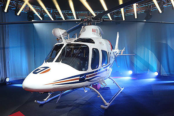The deliveries of AW109 Trekker will begin in 2015. Image courtesy of AgustaWestland.