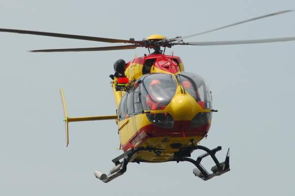 An EC145 helicopter in service with the French Sécurité Civile. Image courtesy of Jdrewes.