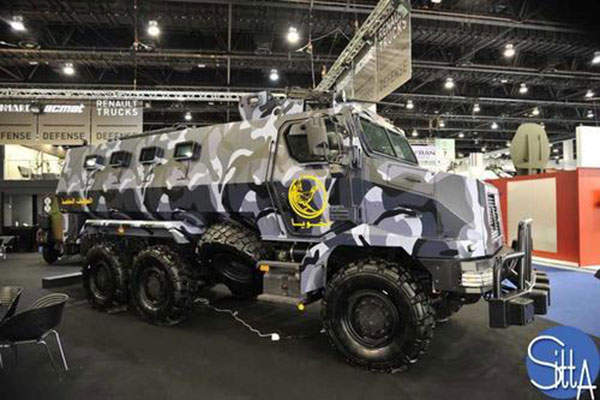 The Higuard MRAP has a maximum road speed of 90km/h. Image: courtesy of Ministère de la Défense.