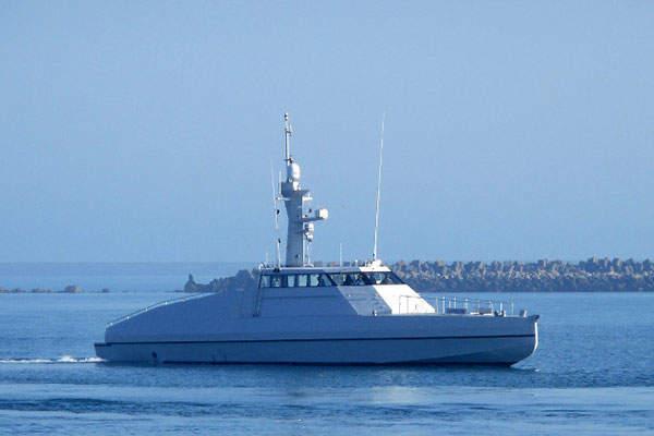 The interceptor vessel has a maximum speed of 43kts. Image: courtesy of CMN.