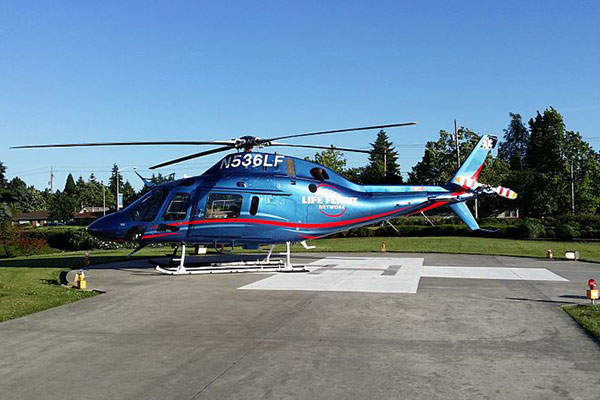 The AW119Kx helicopter was unveiled in October 2012. Image: courtesy of Daveandy1.
