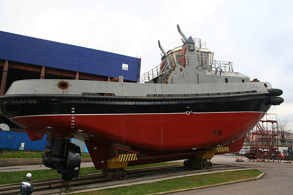 The Project 16609 tug has a speed of 12.5kt. Image: courtesy of PELLA.