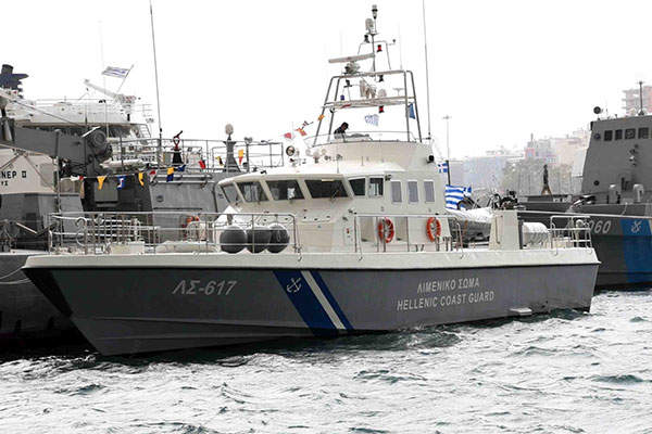 Hellenic Coast Guard received the first POB-24G fast patrol vessel in February 2015. Image: courtesy of A / OS - EL.AKT / DIPLEP.