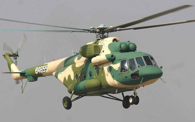 The Mi-171E helicopter can carry up to 26 passengers. Image courtesy of Russian Нelicopters, JSC.