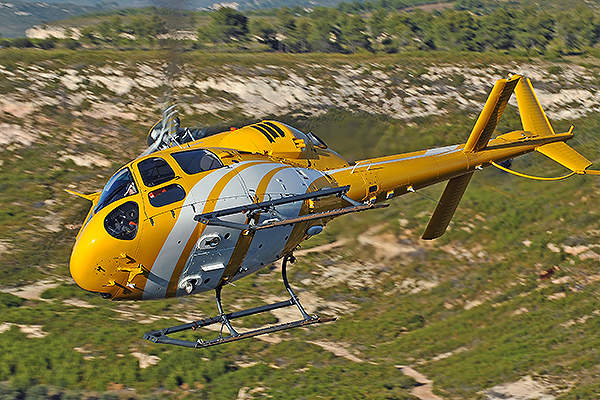 The helicopter is powered by two Turbomeca Arrius 1A1 engines. Image courtesy of Anthony Pecchi