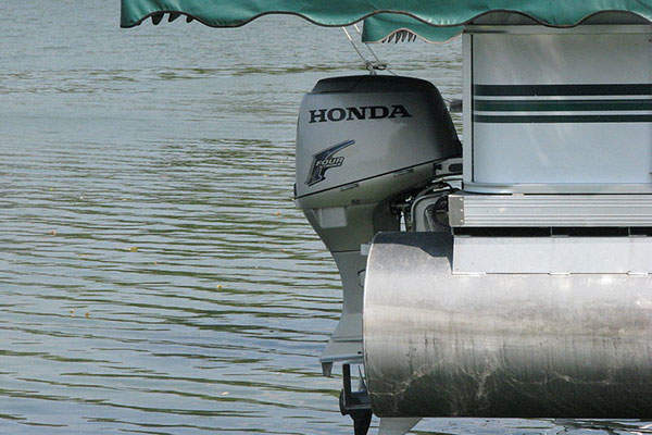 The SPC-SW vessel is powered by two 150hp Honda marine outboard motors.
