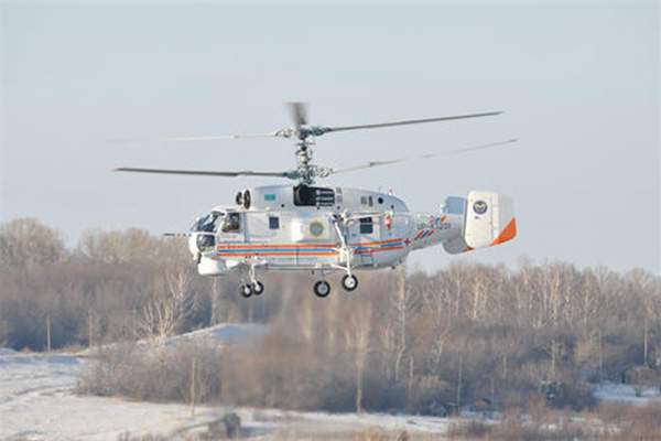 The Ka-32A11BC helicopter can fly at a maximum speed of 260km/h. Image: courtesy of Russian Нelicopters, JSC.
