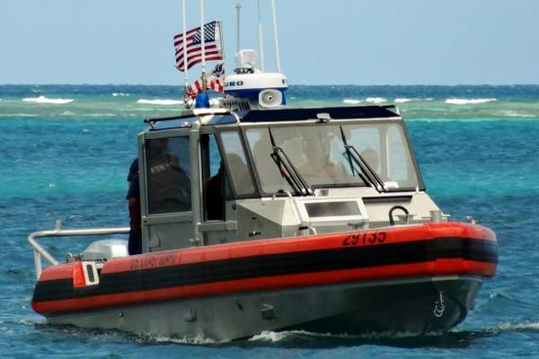 The RB-S II is controlled by a crew of four. Image courtesy of U.S. Coast Guard.