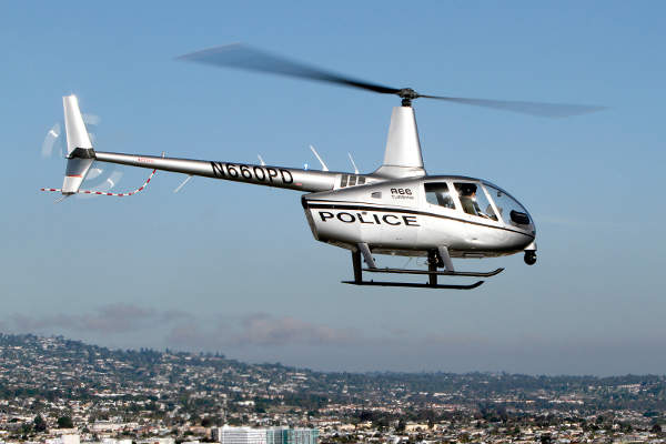 Robinson R66 Police Helicopter was certified by the FAA in September 2012.