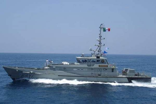 The ARM Teotihuacan (PC-332) vessel was delivered to the Mexican Navy in mid-2012. Image courtesy of Damen Shipyards Group.