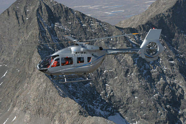 The EC145 T2 rotorcraft has a maximum speed of 268km/h. Image: courtesy of Airbus Helicopters, Charles Abarr 2013.