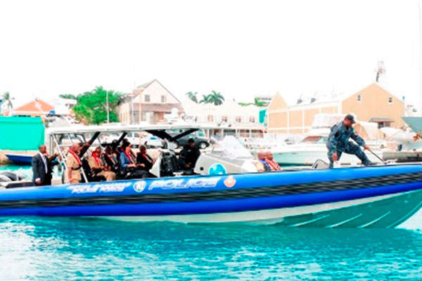 The Apostle vessel is designed for use in law enforcement missions. Image: courtesy of State Dept.