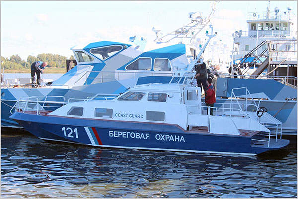 The Chibis frontier boats are in service with the Russian Federation's Federal Security Service. Image: courtesy of Vympel Shipyard JSC.