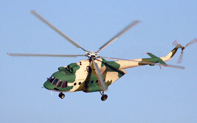 The power-plant of the Mi-171E integrates two VK-2500-03 engines. Image courtesy of Russian Нelicopters, JSC.