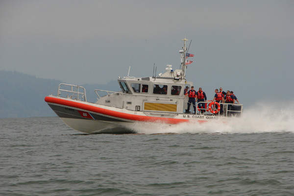 The  Response Boat - Medium (RB-M) can cruise at a maximum speed of 45kt.