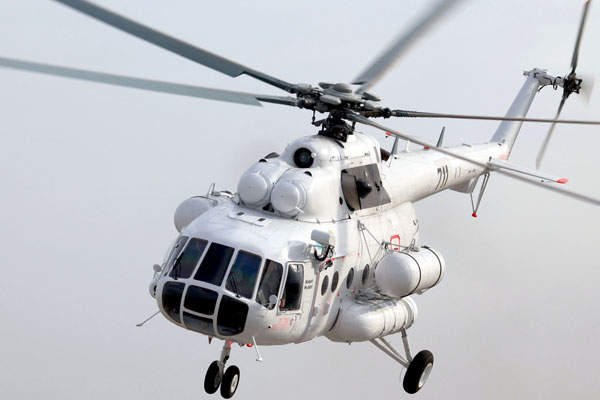 The Mi-8AMT helicopter has a maximum range of 1,065km. Image: courtesy of Russian Нelicopters, JSC.