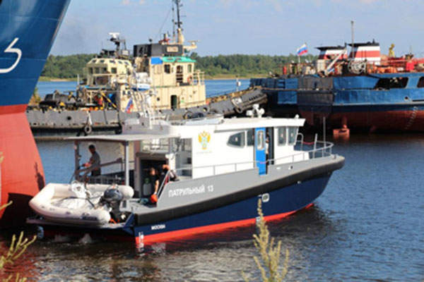The 14M patrol boat was introduced in 2012. Image: courtesy of Laky Verf Company.