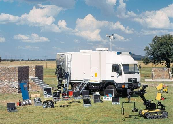 EOD NBC service vehicles