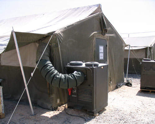 tent cooling