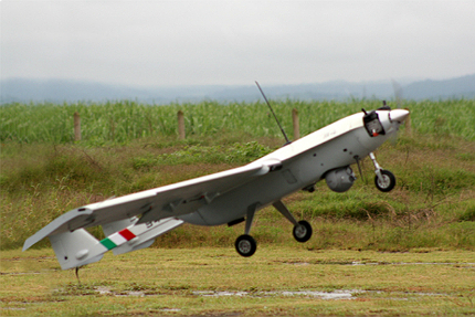 S4 Ehécatl is an unmanned aerial vehicle