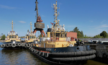 Project 16609 tugs are in service with the northern and Pacific fleets of the Russian Navy.