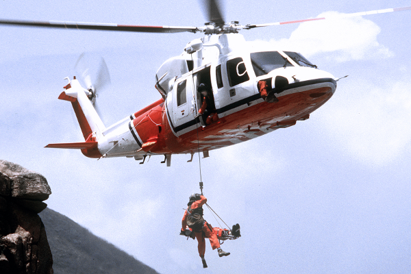 S-76D SAR helicopter
