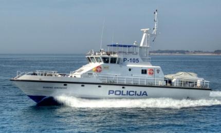 Camarc 25m police patrol boat